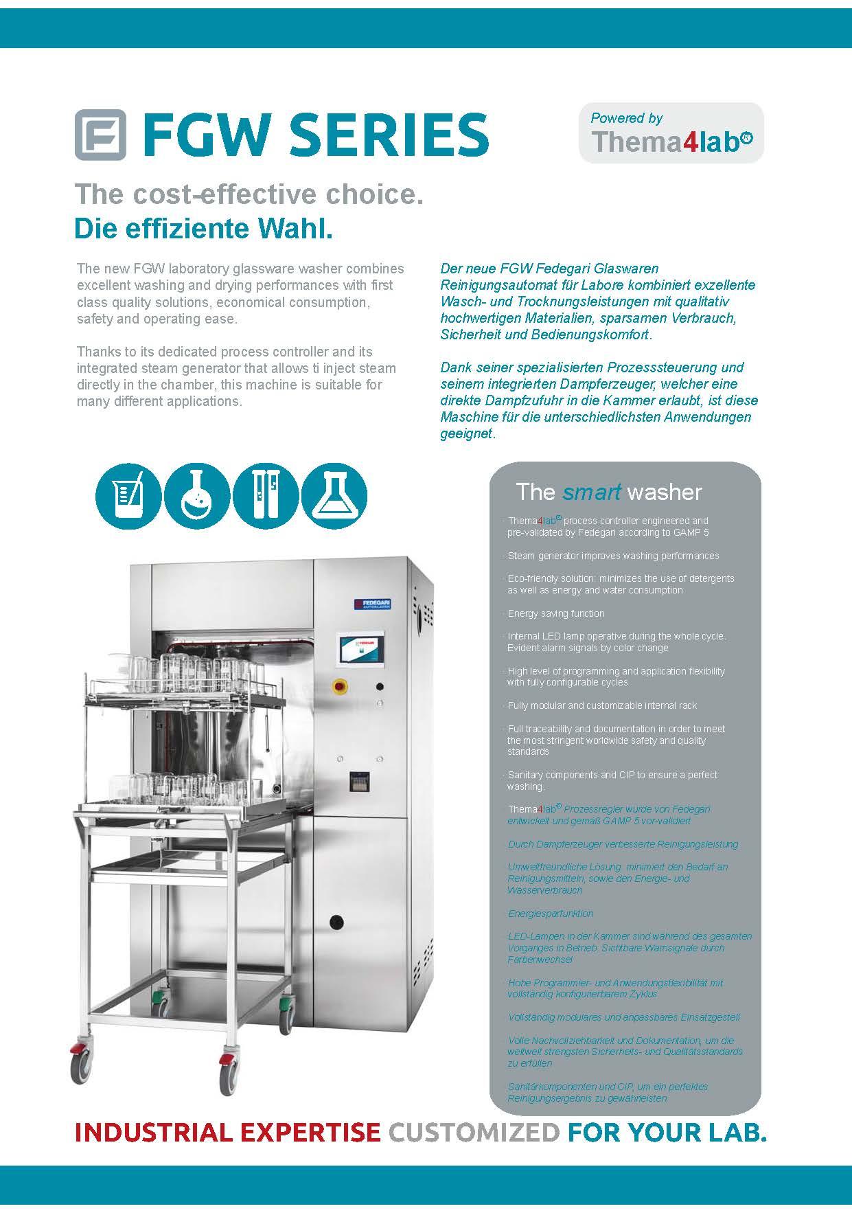 FGW Glaswaren Reinigungsautomat für Labor
