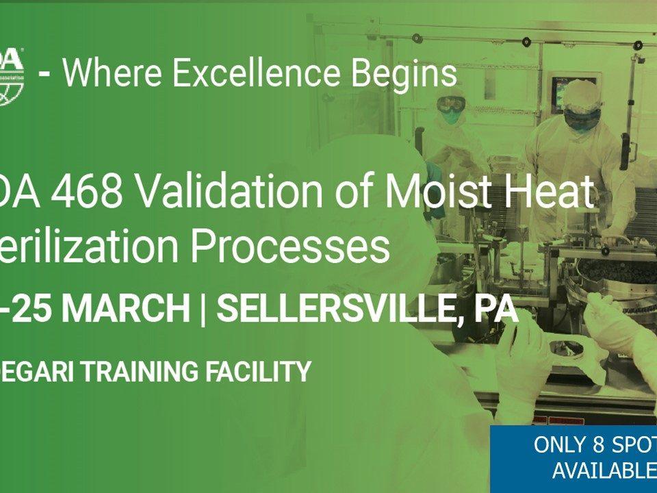PDA - Validation of Moist Heat Sterilization Processes