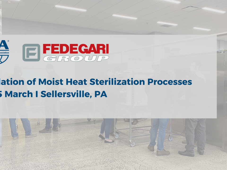 Fedegari hosts PDA hands-on training at our Tech Center in Sellersville (PA)